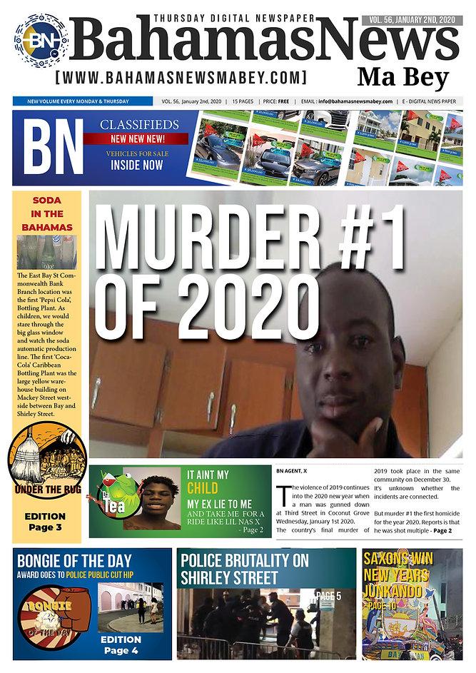 BN News Paper -  Jan 2nd 2020 - Vol 56.j