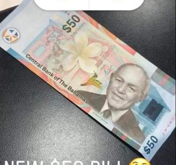 NEW $50 BILL AGAIN