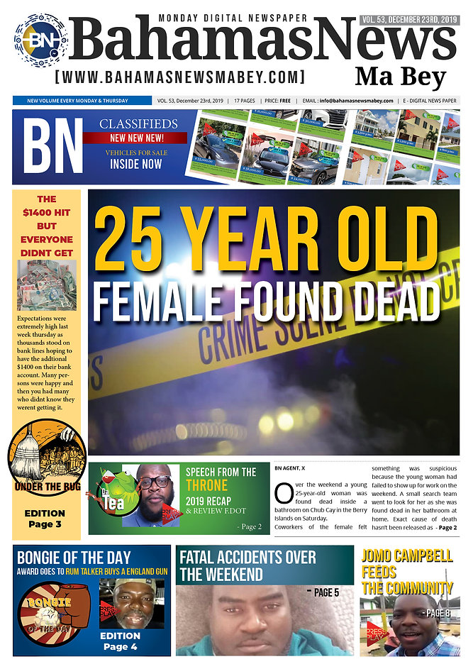 BN News Paper - December 23rd 2019 - Vol