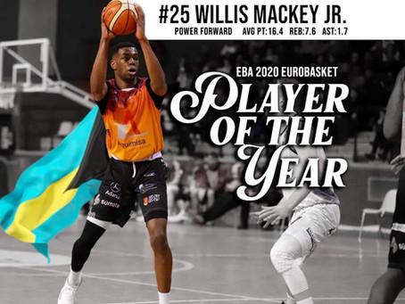 Willis Mackey Jr. EBA Player of the Year 2020