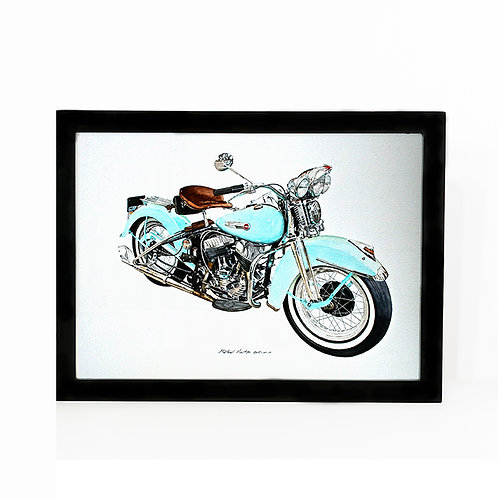 "Limited Edition Harley Print ""George"""
