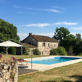 La Baronne, Miramont de Quercy - the pool...