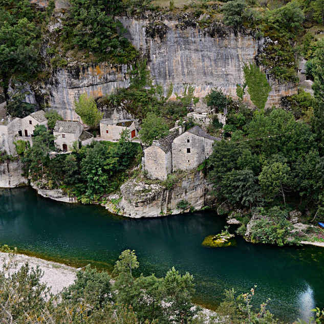 Le Gorge du Tarn, Cévennes, France