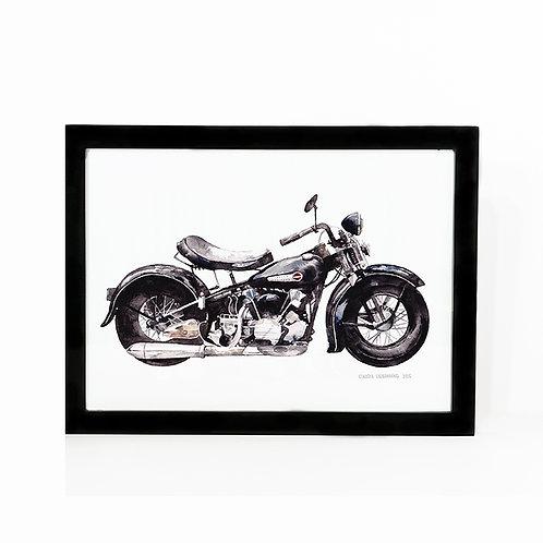 "Limited Edition Harley Print ""Frank"""
