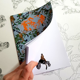 Squirrel Monkey Notebook