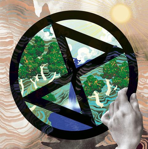Extinction Rebellion - self initiated work
