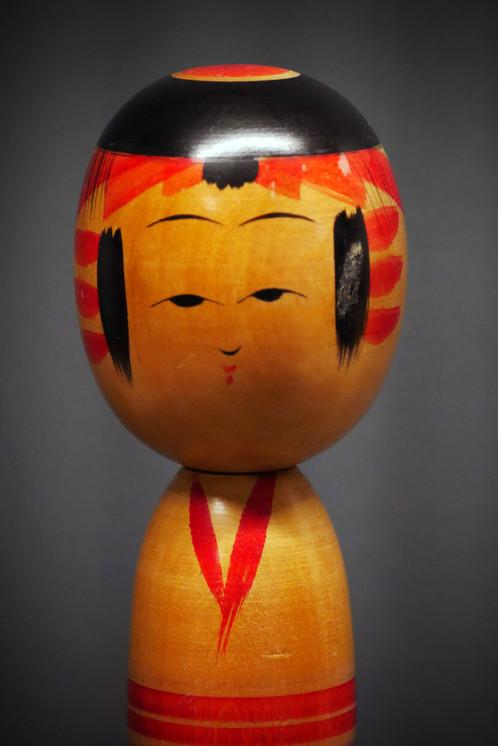 Kokeshi vintage no 4 vintage kokeshi no 4 objets de décoration artisanat millmakers