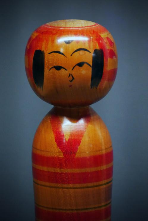 Kokeshi vintage no 7 vintage kokeshi no 7 objets de décoration artisanat millmakers