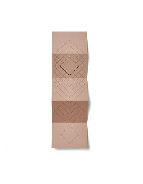 Cartes plurielles en accordeon plurielles folding cards objets de décoration artisanat millmakers