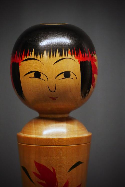 Kokeshi vintage no 11 vintage kokeshi no 11 objets de décoration artisanat millmakers