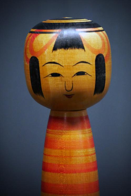 Kokeshi vintage no 13 vintage kokeshi no 13 objets de décoration artisanat millmakers