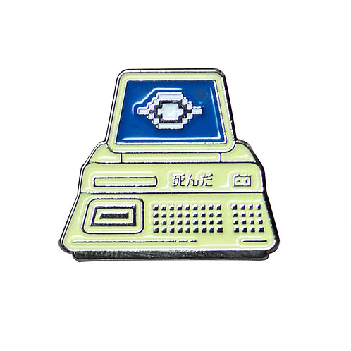 GLOBAL SURVEILLANCE ENAMEL PIN