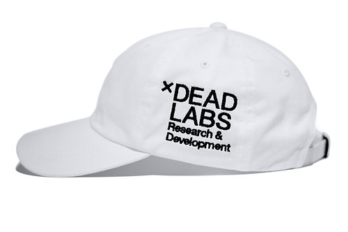 xDeadLabs RND Dad Hat (White)