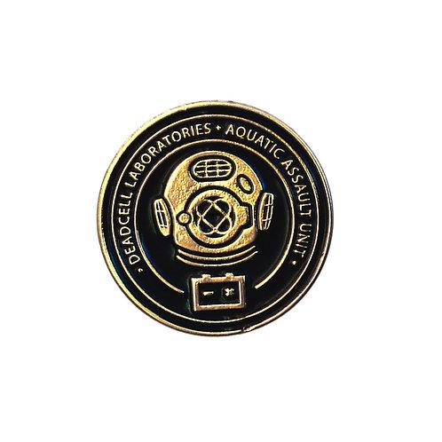 AQUATIC ASSAULT ENAMEL PIN