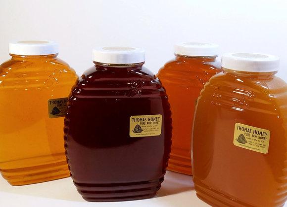 6 pk. 40 oz. Jar Mixed Variety Honey
