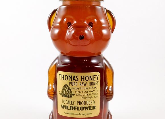 12 oz. Wildflower Honey Bear