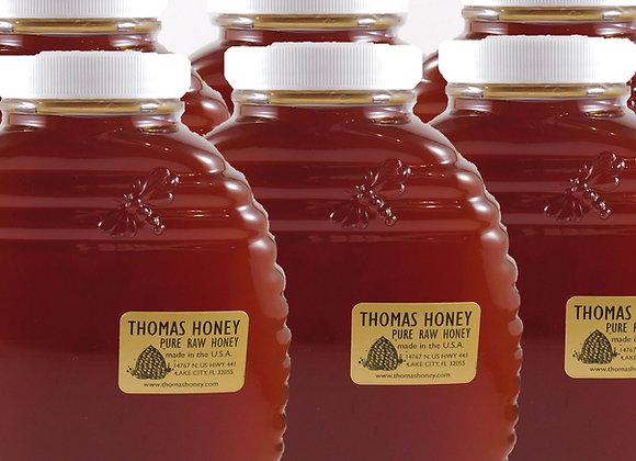 6 pk. 40 oz. Jar Wildflower Honey