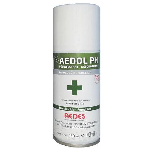 Aérosol bactéricide et fongicide à vidange intégrale, AEDOL PH - Aérosol de 150m