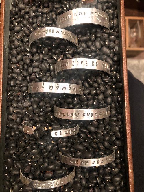 Custom Stamped Bracelet