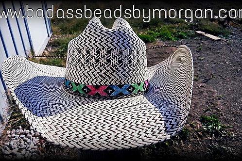 Beaded Cowboy Hatband