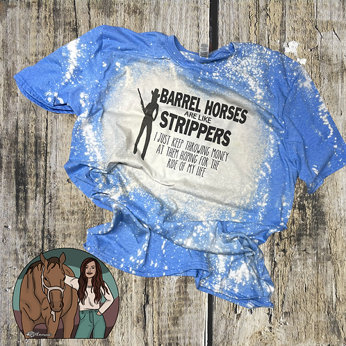 Barrel Horses #1 pre order