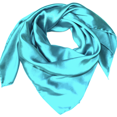TURQUOISE: SOLID TEAL WILD RAG