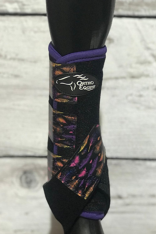Ortho Equine Feather Print Boot