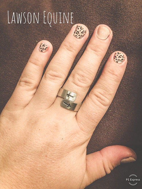 Aluminum Double Layer Stamped Ring