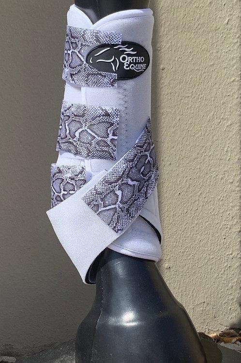 Ortho Equine Snakeskin Print Boot