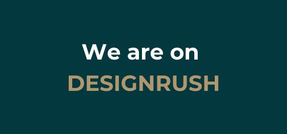 We are on designrush!