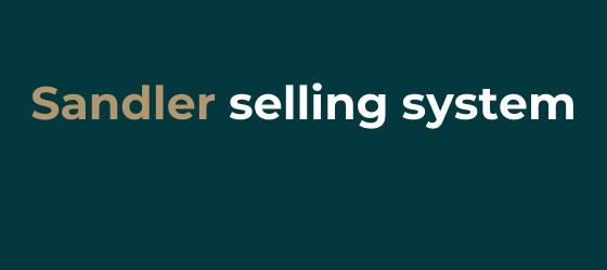 Sandler's sales methodology