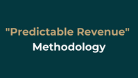 """Make your business scalable- """"Predictable Revenue sales methodology"""""""
