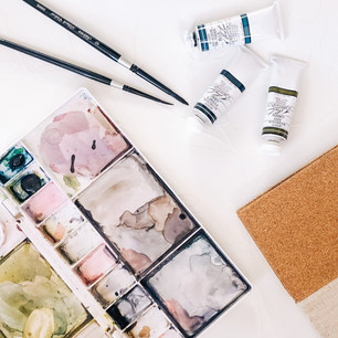 Watercolor Illustration Supply List & Recommendations