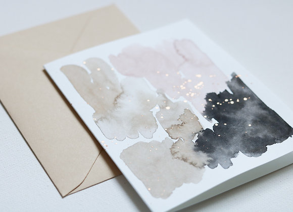 sand notecard