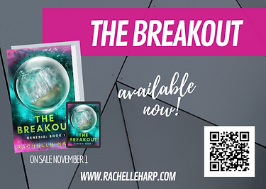 The Breakout Available Now Rachelle Harp
