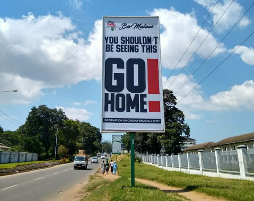YOU SHOULDN'T BE SEEING THIS: UM RELATO SOBRE O CORONAVÍRUS NO MALAWI