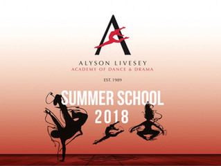 SUMMER SCHOOL 2018!