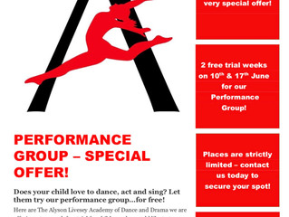 Performance Group - Special Offer!
