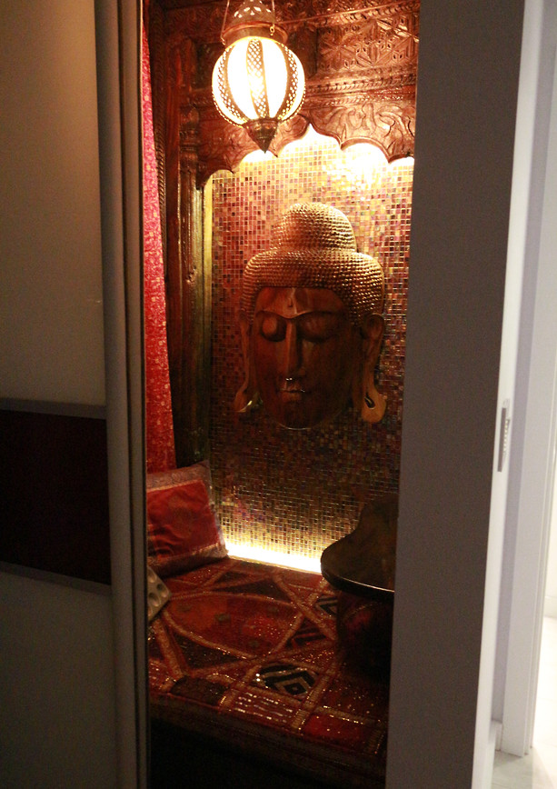 MEDITATION IN A CLOSET SPACE, Society Hill  Philadelphia PA 19106
