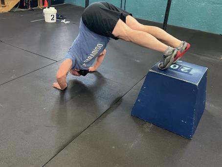 Workouts 4/26 - 5/2