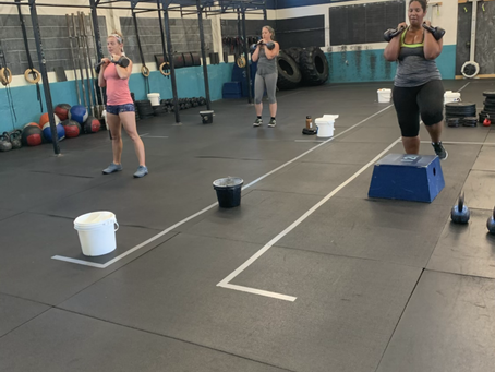 Workouts for 8/24 - 8/30