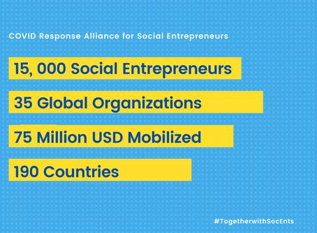 CASE at Duke's COVIDCAP to Support COVID Response Alliance for Social Entrepreneurs
