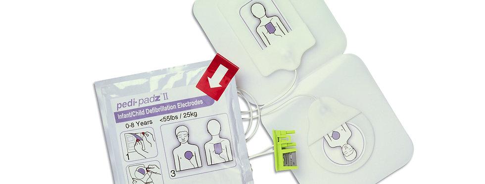 AED-pedi padz II für AED Plus