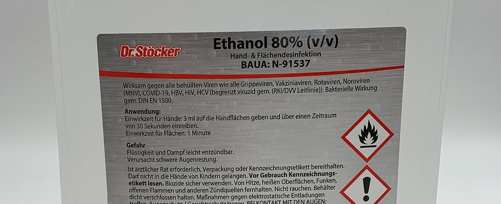 Hände- und Flächendesinfektion Dr. Stöcker