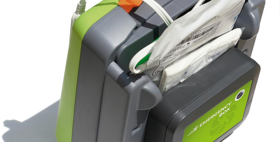 Emergency-Box /Rettungsbox für AED 3 komplett