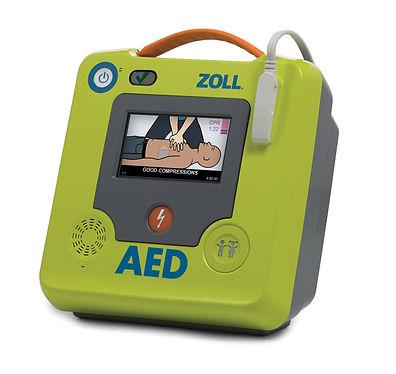 AED3 Halbautomat stehend