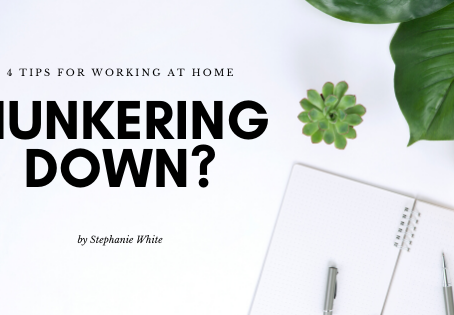 4 Tips for Working at Home