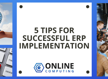 5 Tips for Successful ERP Implementation