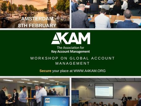 Atelier sur le Global Account Management à Amsterdam