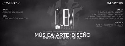 CUEM Live Party, Bogotá, COLOMBIA
